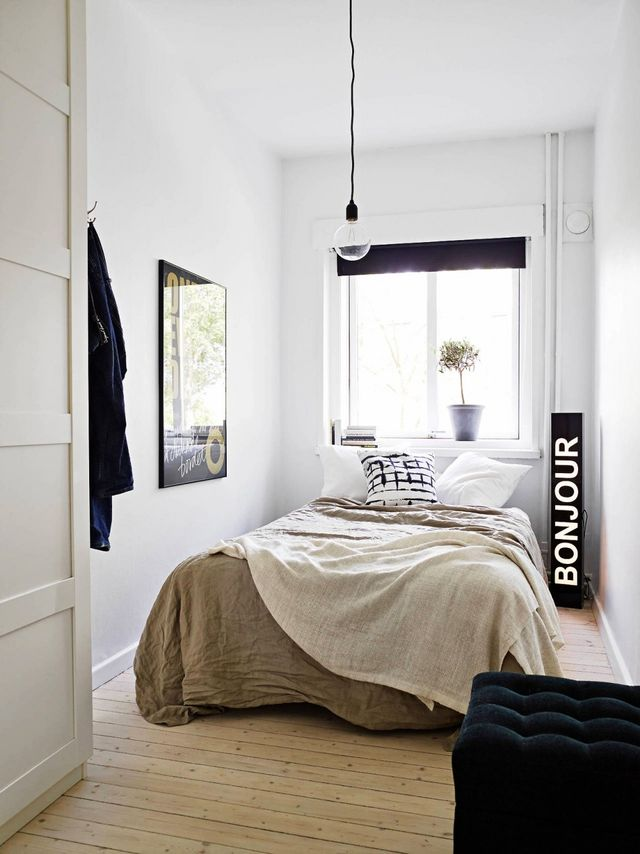 18 tiny bedrooms with huge style mydomaine au for Big w bedroom storage