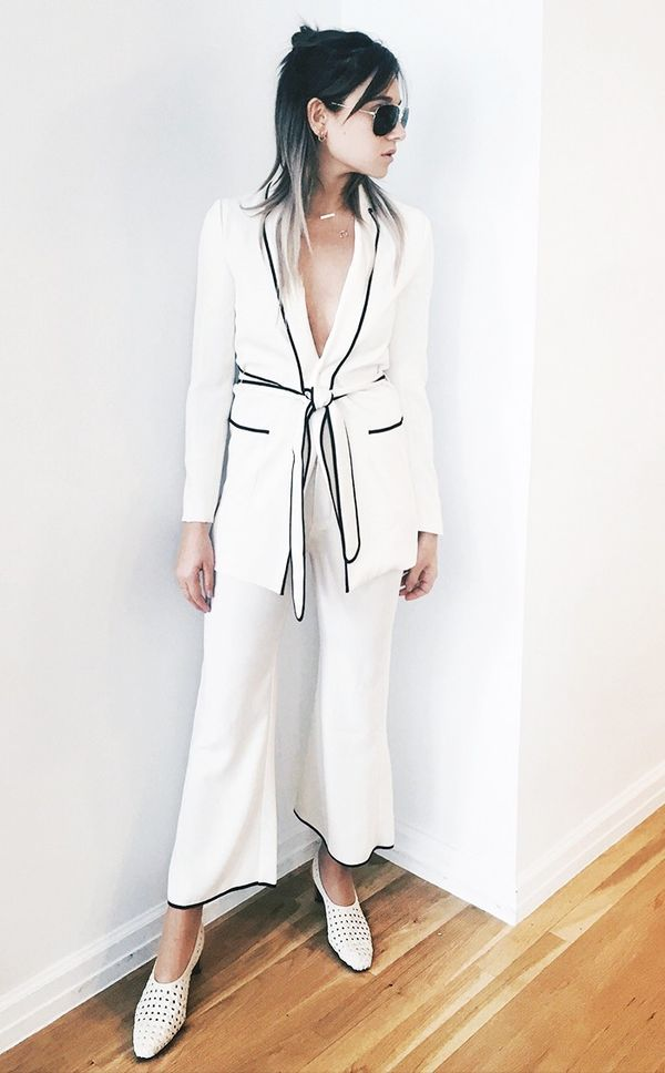 Style Tip: Test out a boudoir-inspired suit look.