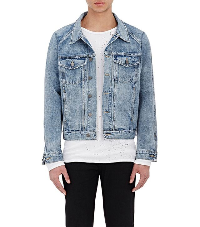 Fear of God Distressed Denim Jacket