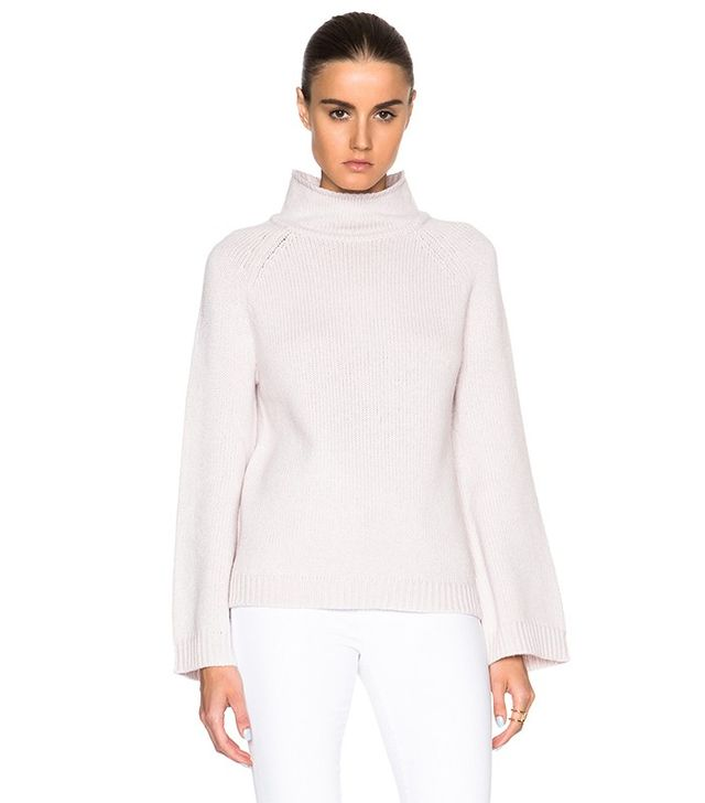 Sally LaPointe Cashmere Turtleneck