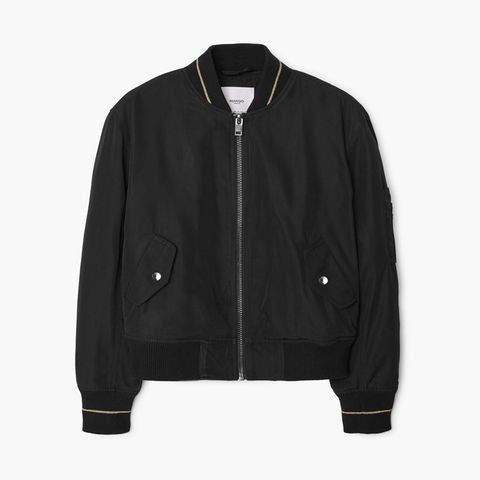 Contrast Trims Bomber