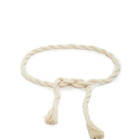 Tasseled Rope Belt