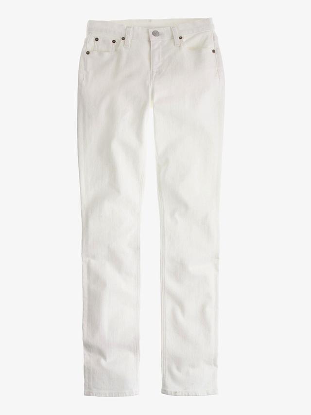 J.Crew Matchstick Jean in White