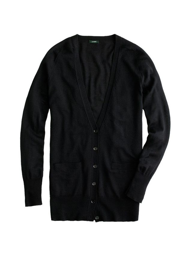 J.Crew Classic Merino Wool Long Cardigan Sweater