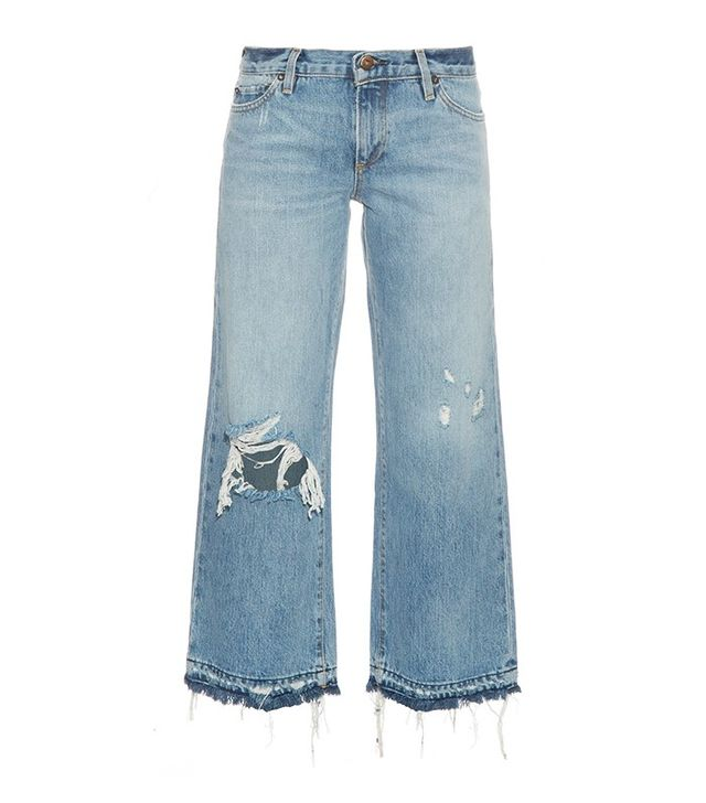 Simon Miller Yerma Distressed Cropped Jeans