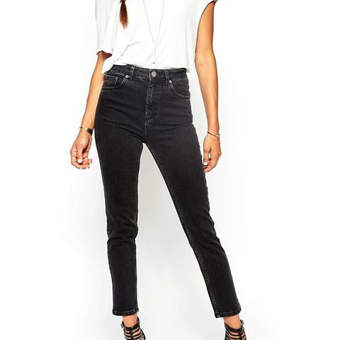 Farleigh High-Waist Slim Mom Jeans
