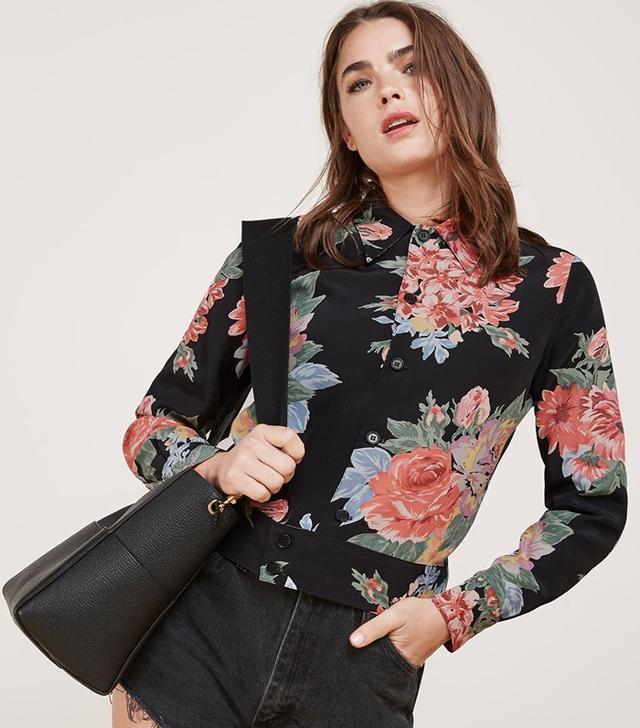 Reformation Bouquet Jacket