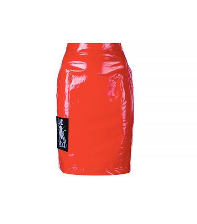 Ashley Williams Bad Mood Patent Skirt