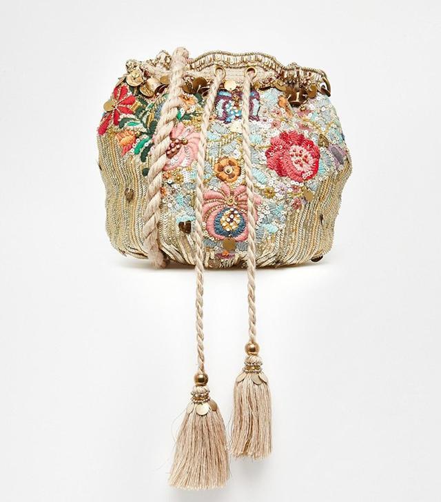 Star Mela Floral Emboridered Bag