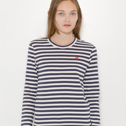 Striped Small Heart T-Shirt