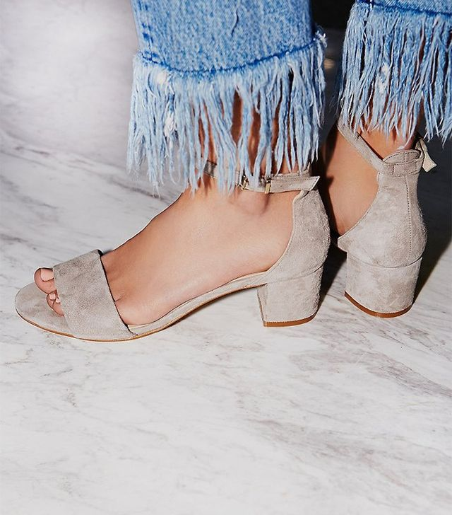 Free People Marigold Block Heels