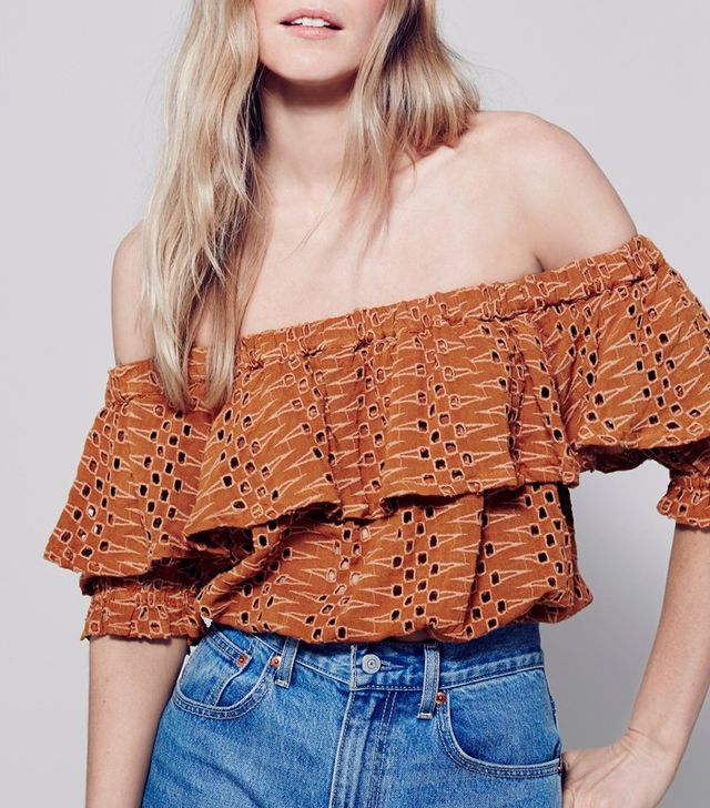 Free People That Girl Off the Shoulder Top