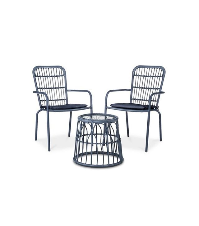 Threshold Seward 3-Piece Wicker Patio Chair Set