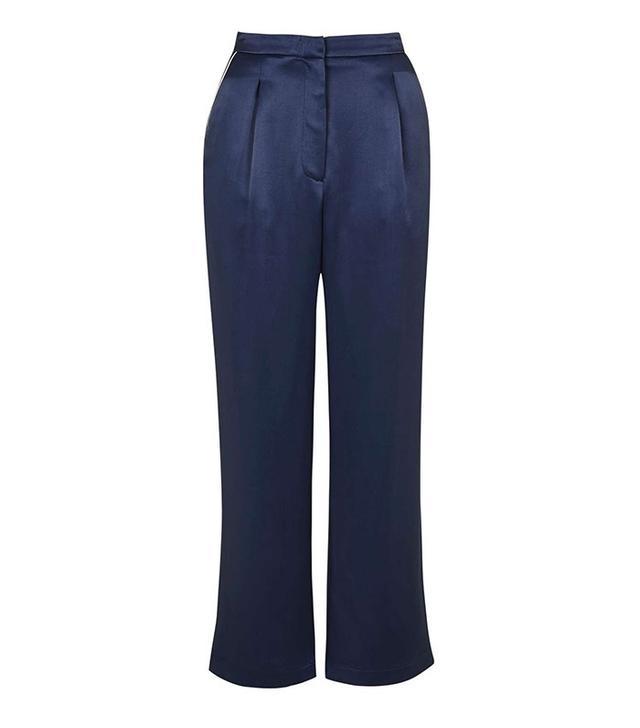 Topshop Satin Pyjama Style Trousers