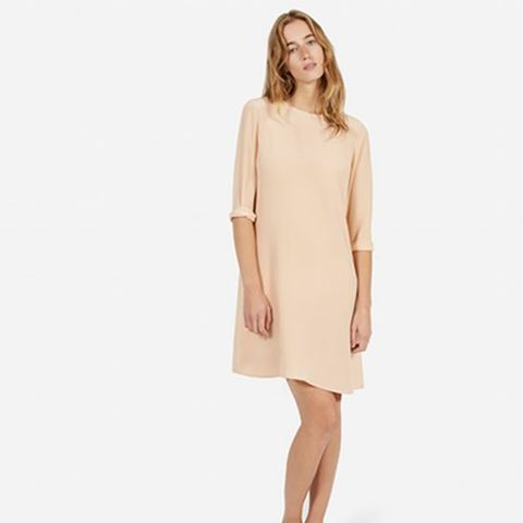 The Silk Long Sleeve Dress