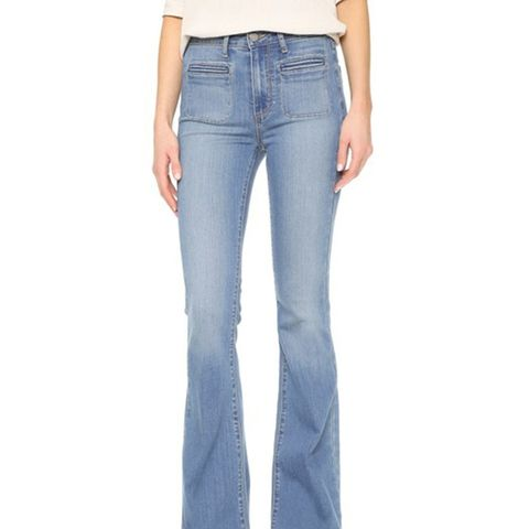 High Rise Bell Canyon Jeans
