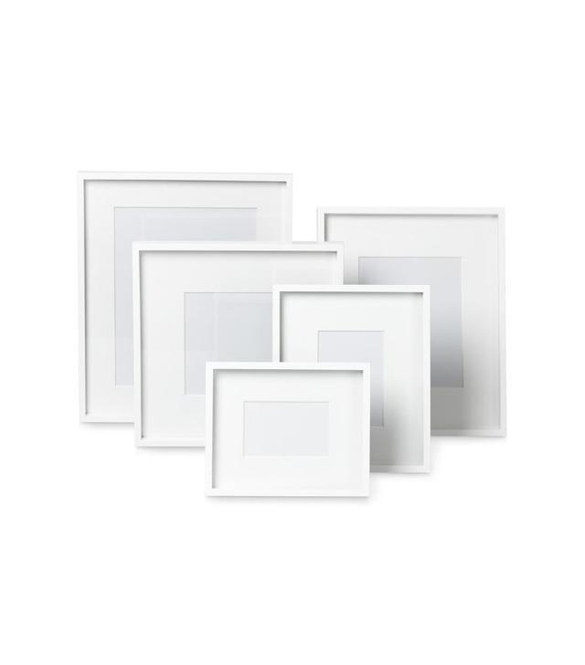Williams-Sonoma White Lacquer Gallery Picture Frame