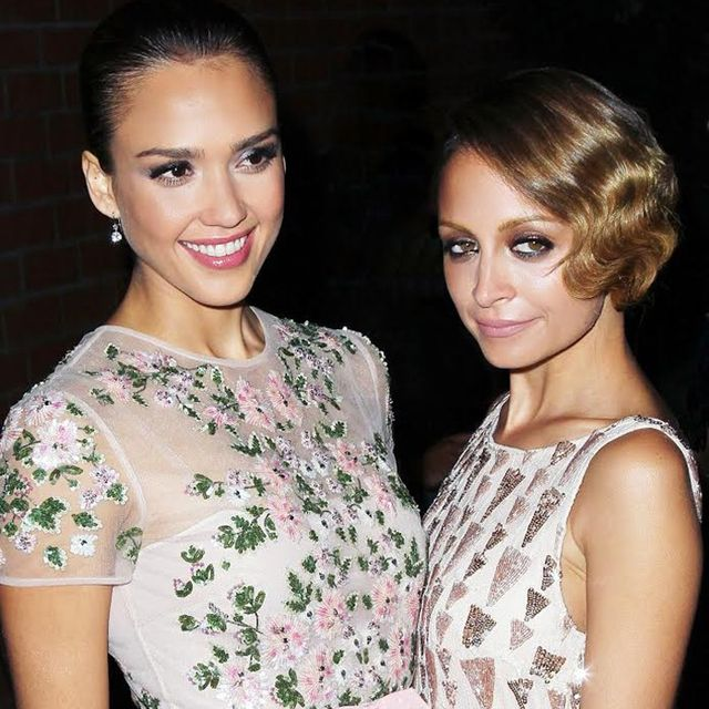 This Candid Video of Jessica Alba and Nicole Richie Is the Cutest