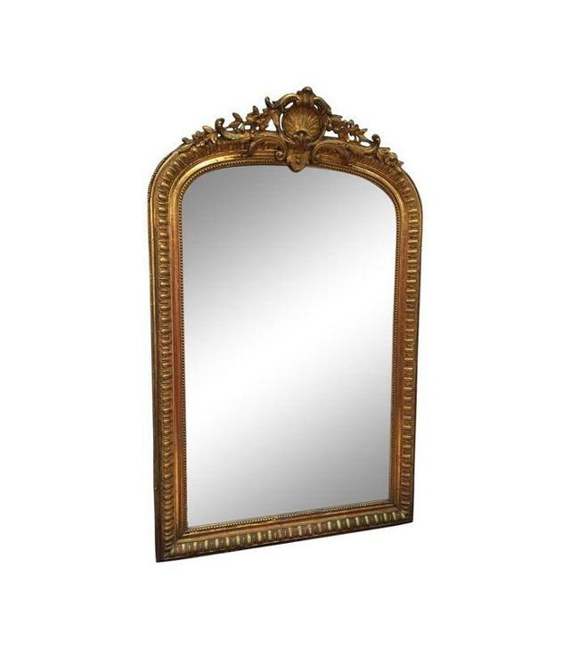 Chairish Large French Gilt Mirror