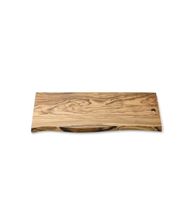 Williams-Sonoma Olivewood Plank Cutting Board
