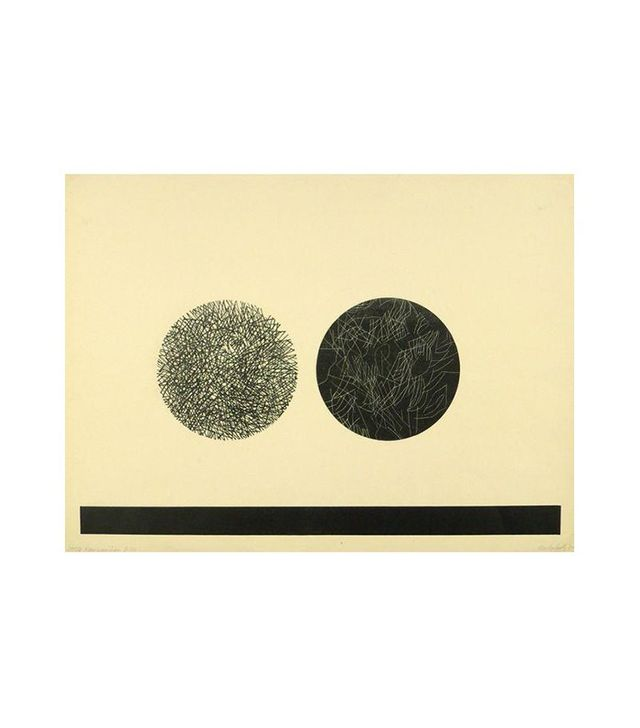 Chairish Abstract Fine Art Lithograph