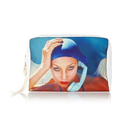 Jerry Hall Printed Cosmetics Case