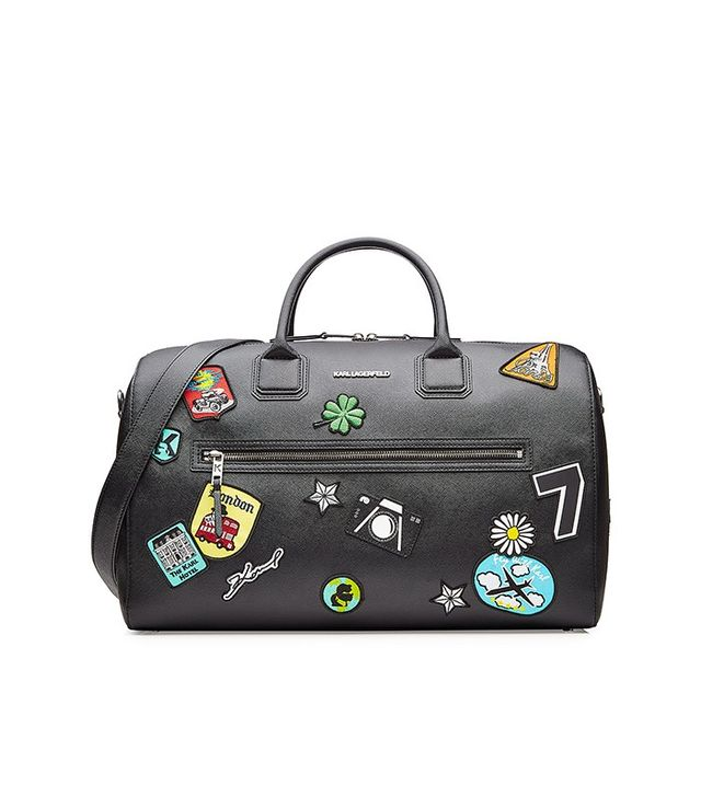 Karl Lagerfeld Karl Around the World Weekender Bag