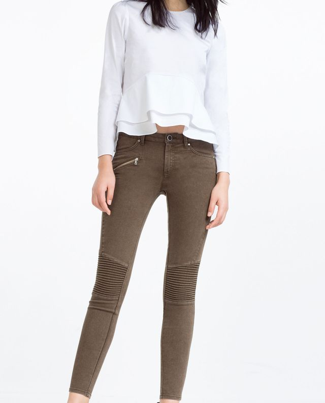 Zara Biker Trousers