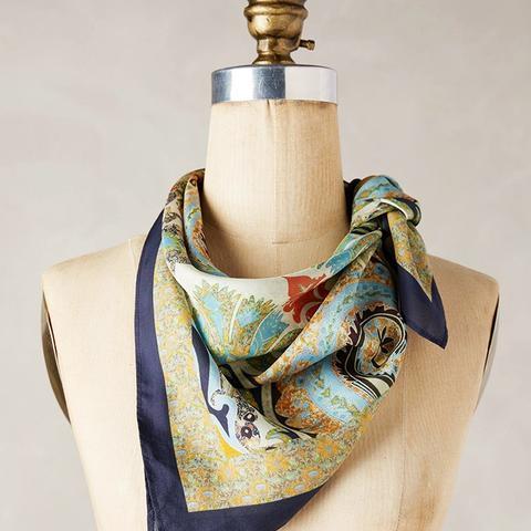 Naples Silk Neckerchief