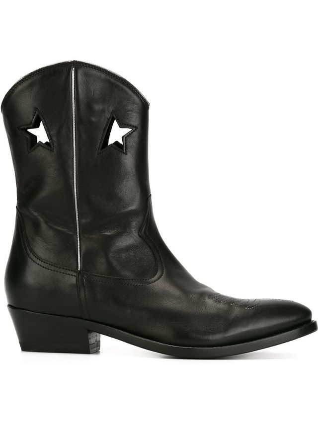 Folden Foose Deluxe Star Cowboy Boots