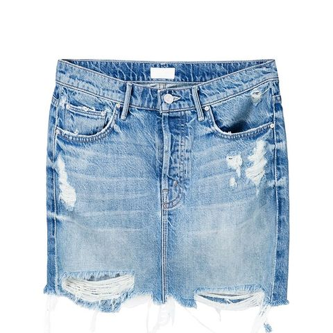 The Vagabond Mini Fray Skirt