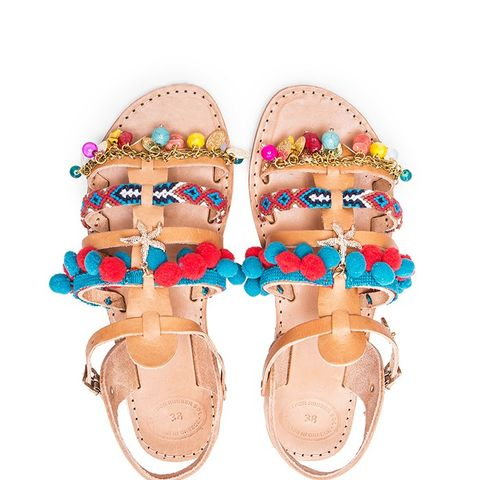 Leather Maude Sandals