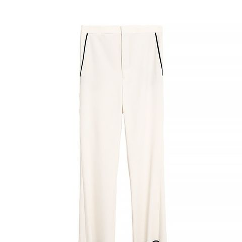 Cropped Bell Bottom Trousers
