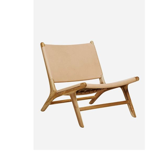 Fenton & Fenton Leather Marlboro Chair
