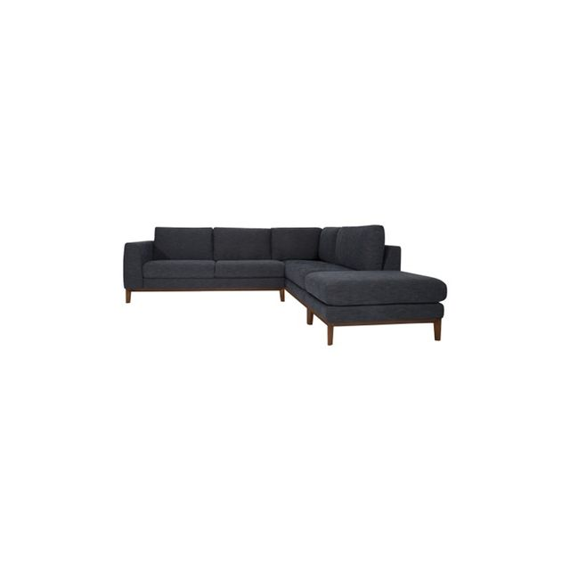 Freedom Amelie Modular 2.5 Seat Left Hand, Right Hand Terminal & Ottoman in York Coal
