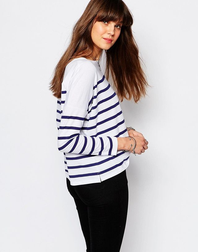 Lee Jeans Oversize Striped T-Shirt