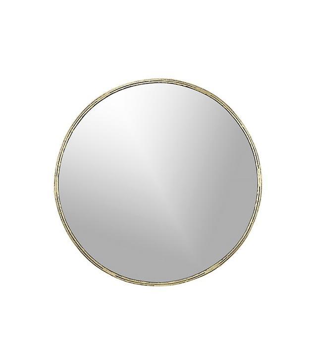 CB2 Brass Mirror