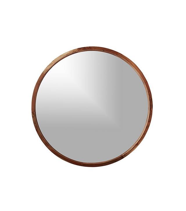 CB2 Wood Mirror