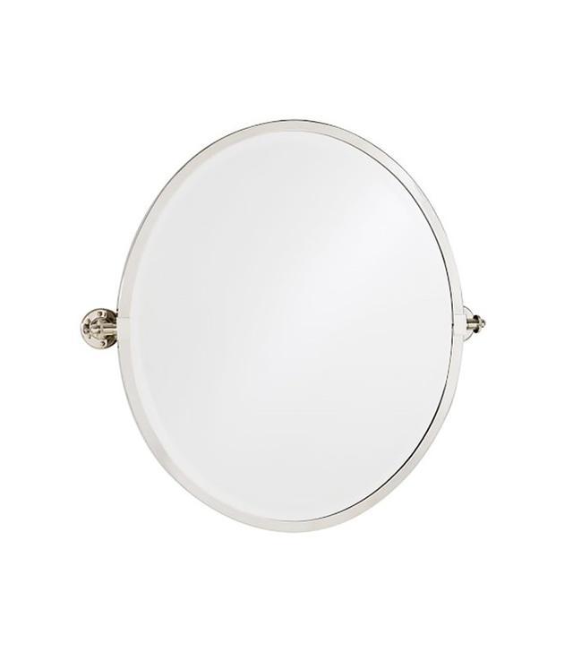 Pottery Barn Round Pivot Mirror