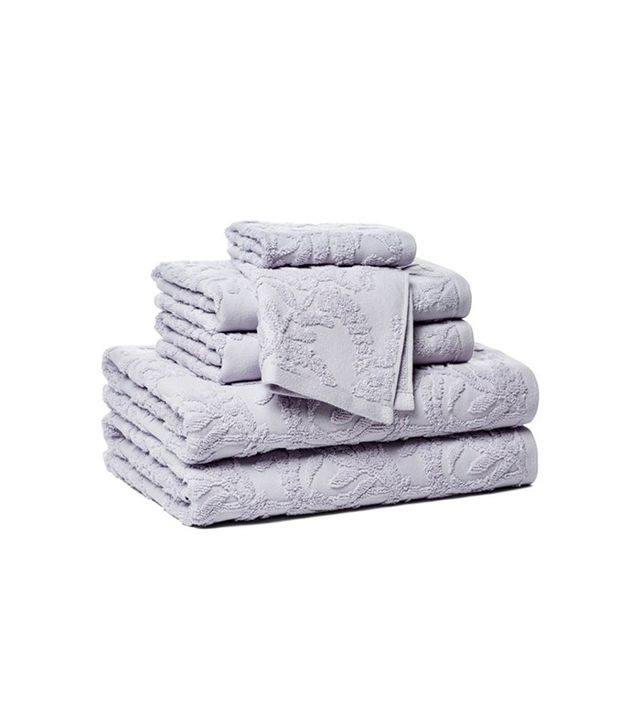 One Kings Lane 6-Piece Jacquard Towel Set