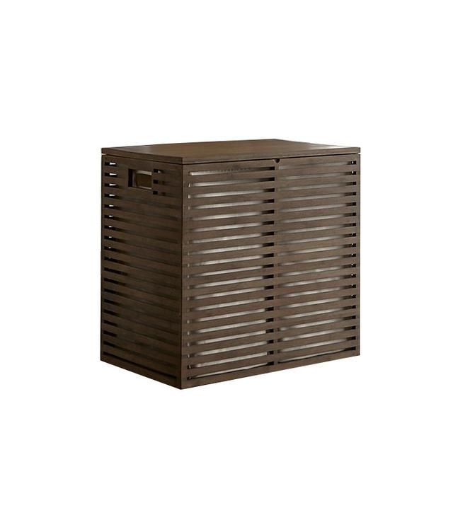 Crate and Barrel Dixon Bamboo Hamper
