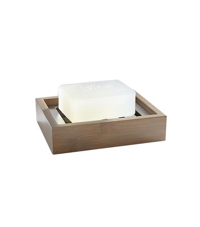Crate and Barrel Dixon Bamboo Soap Dish