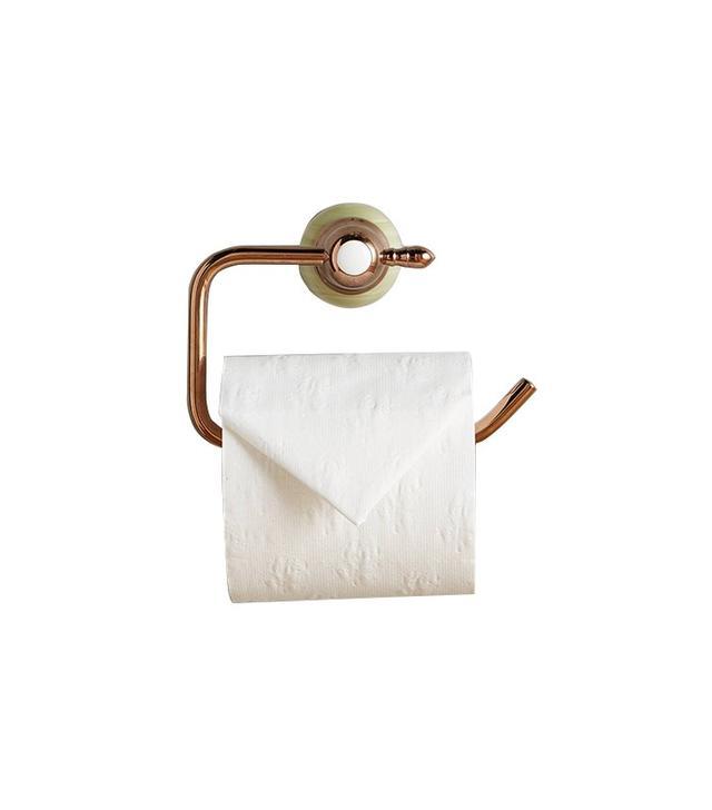 Anthropologie Greengloss Toilet Paper Holder