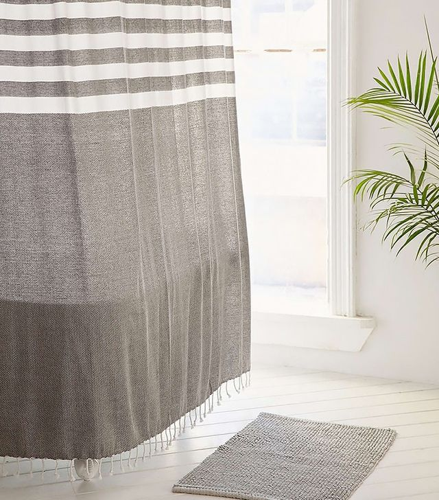 4040 Locust Miyo Yarn Dye Shower Curtain