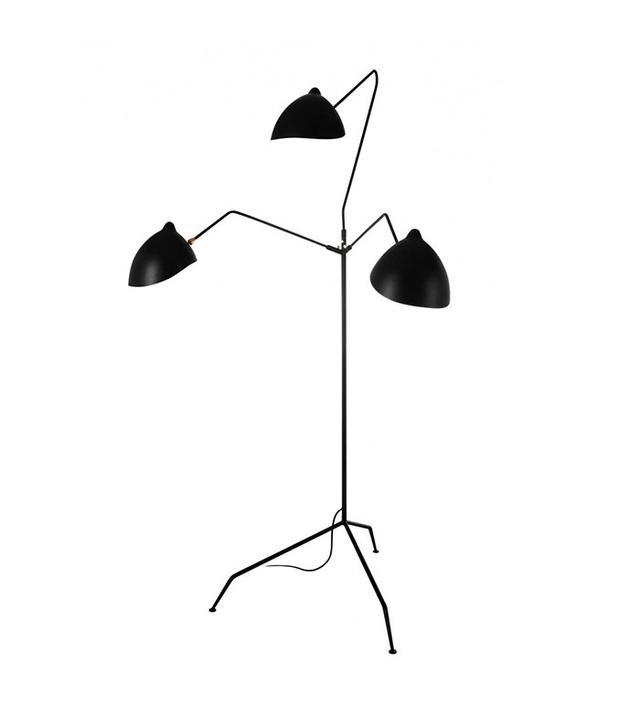 France and Son MFL-3 Standing Lamp Three Arm Floor Lamp
