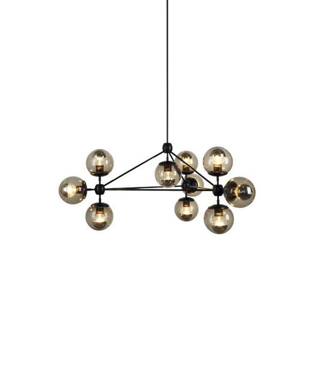 Castelle & Leon Replica Jason Miller Bulb Modo Chandelier 10 Globe
