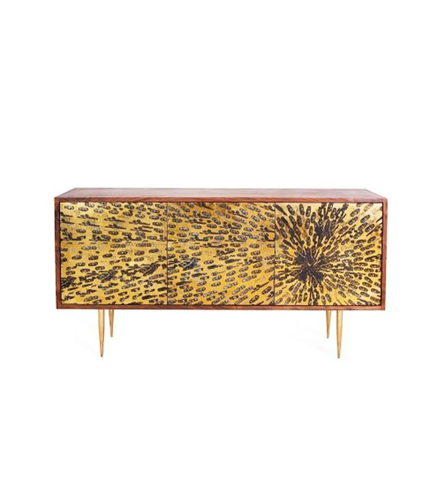 Organic Modernisn Peacock 3 Cabinet