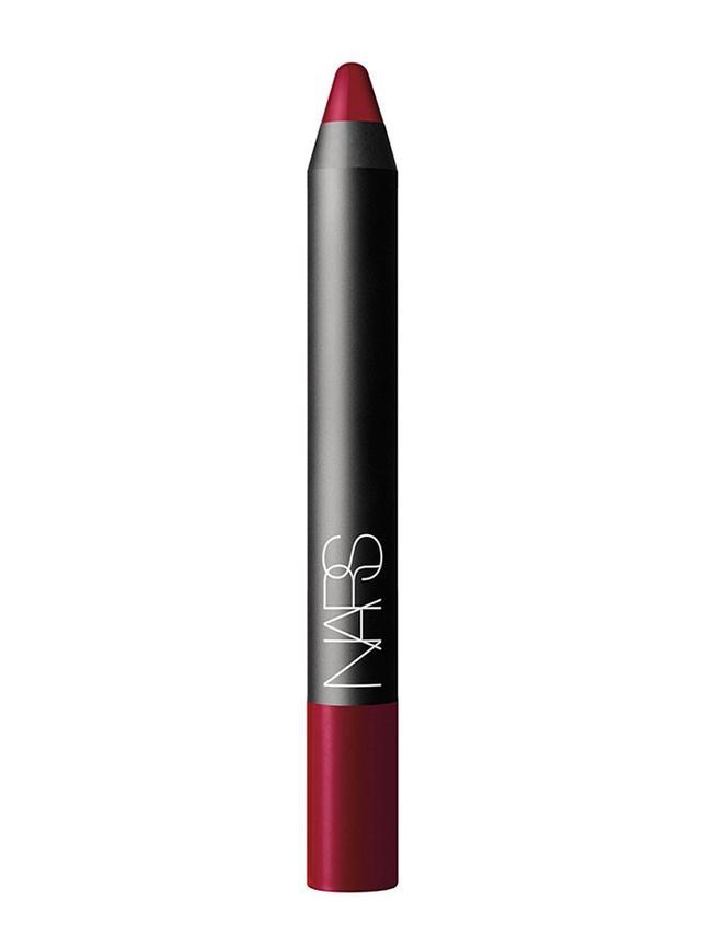 Nars Velvet Matte Lip Pencil in Mysterious Red