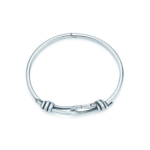 Tiffany & Co. Knot Hinged Bangle