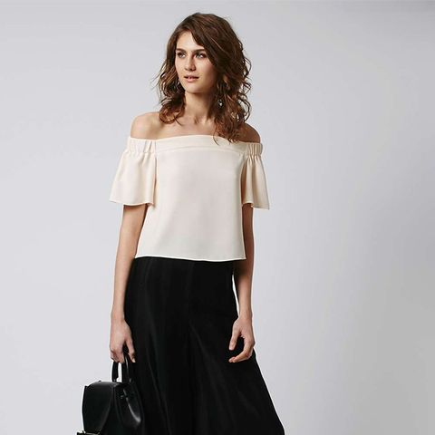 Structured Bardot Top